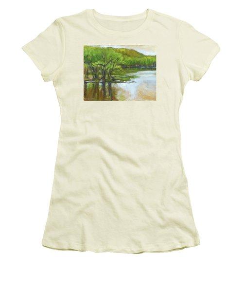 St. Croix, Spring Flood Women's T-Shirt (Athletic Fit)