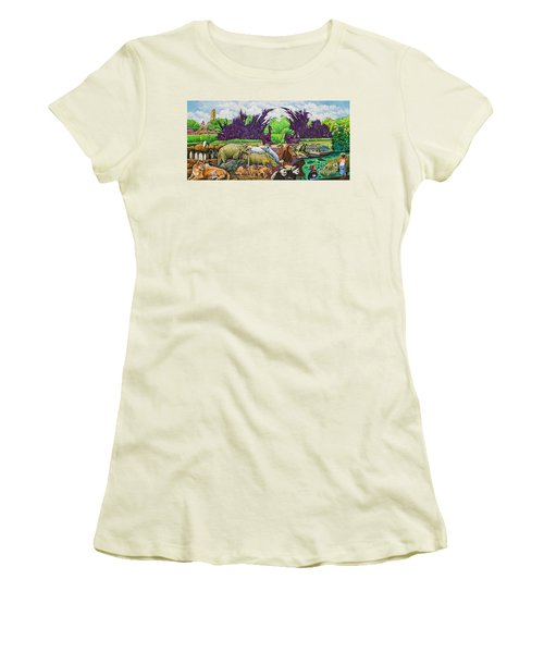 St. Louis Zoo Women's T-Shirt (Athletic Fit)