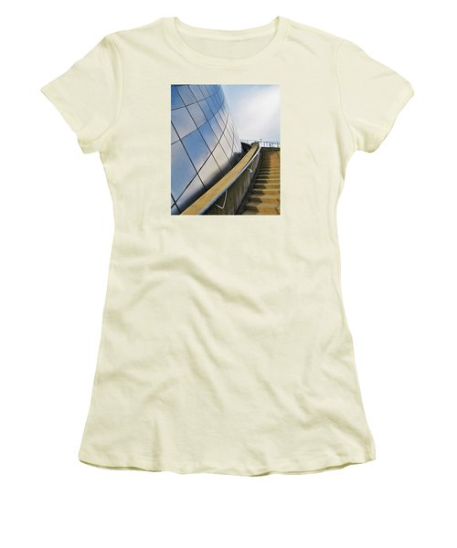 Staircase To Sky Women's T-Shirt (Junior Cut) by Martin Cline