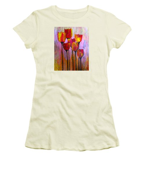 Stand Up And Shine Women's T-Shirt (Junior Cut) by Terry Honstead