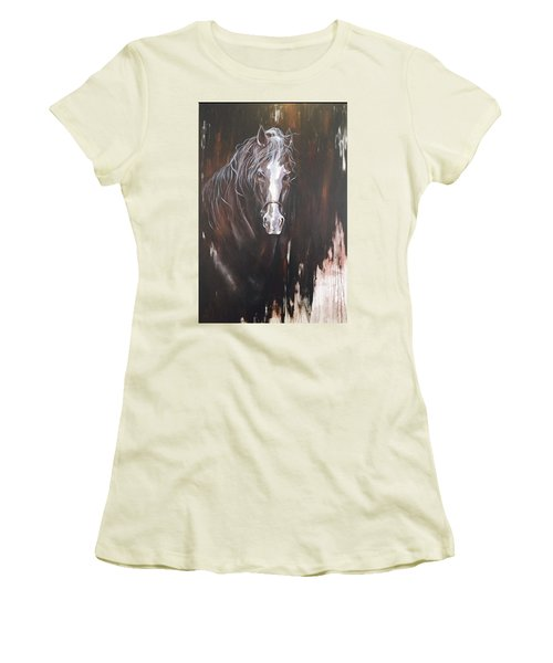 Standing Firm Women's T-Shirt (Junior Cut) by Heather Roddy
