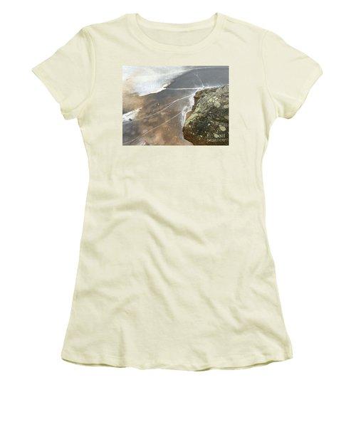 Stone Cold Women's T-Shirt (Junior Cut) by Jason Nicholas