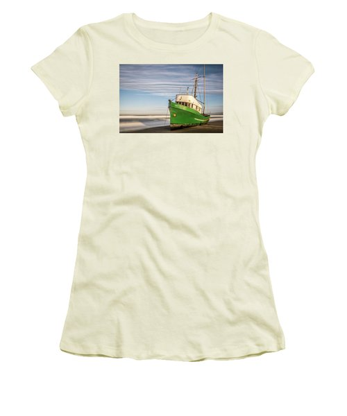 Stranded On The Beach Women's T-Shirt (Athletic Fit)