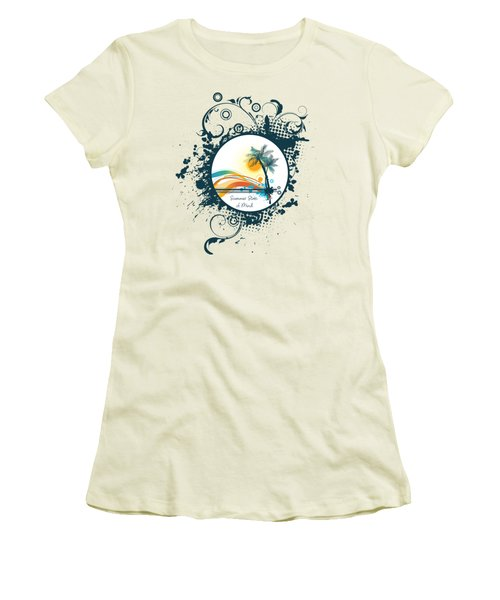 Summer State Of Mind Women's T-Shirt (Athletic Fit)