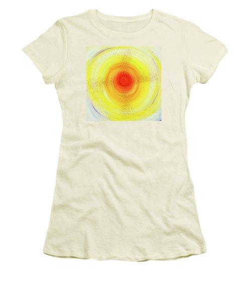 Sun Salutations Women's T-Shirt (Athletic Fit)
