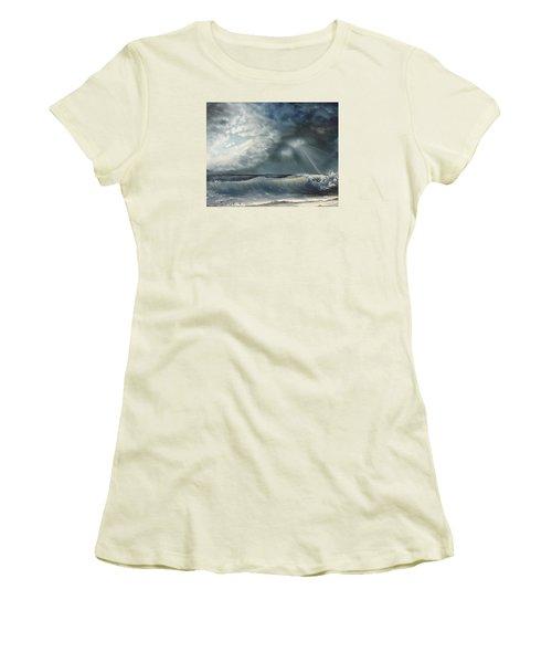Sunlit Sea Women's T-Shirt (Athletic Fit)