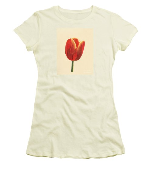 Sunlit Tulip Women's T-Shirt (Athletic Fit)