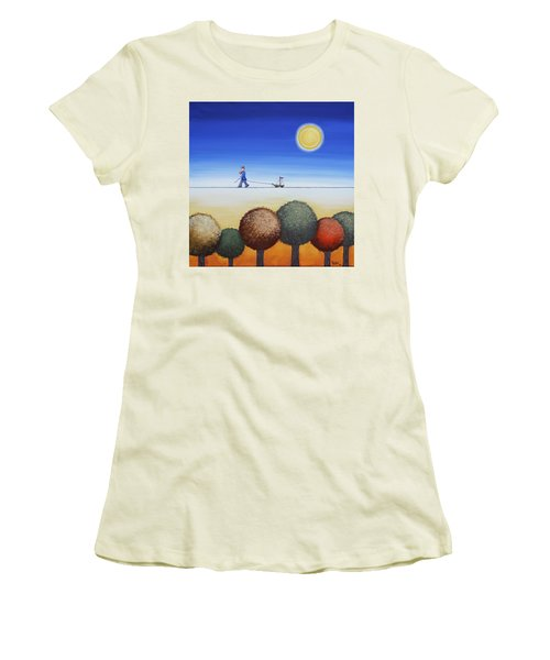 Sunny Afternoon Women's T-Shirt (Athletic Fit)