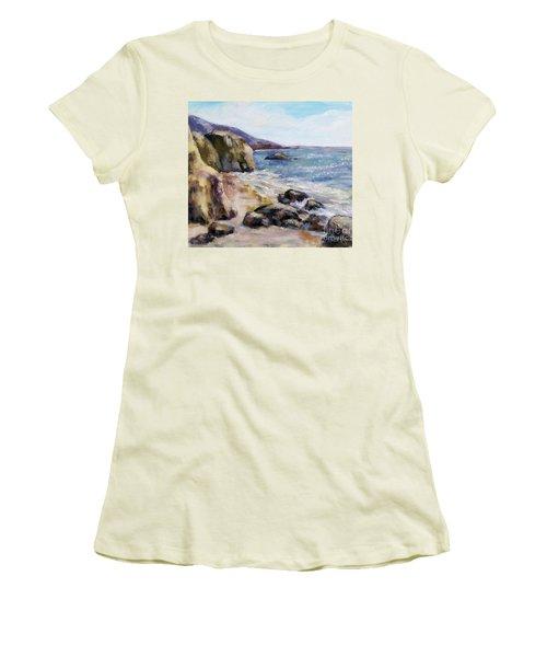 Sunny Coast Women's T-Shirt (Junior Cut) by William Reed