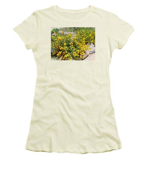 Sunny Garden Women's T-Shirt (Athletic Fit)