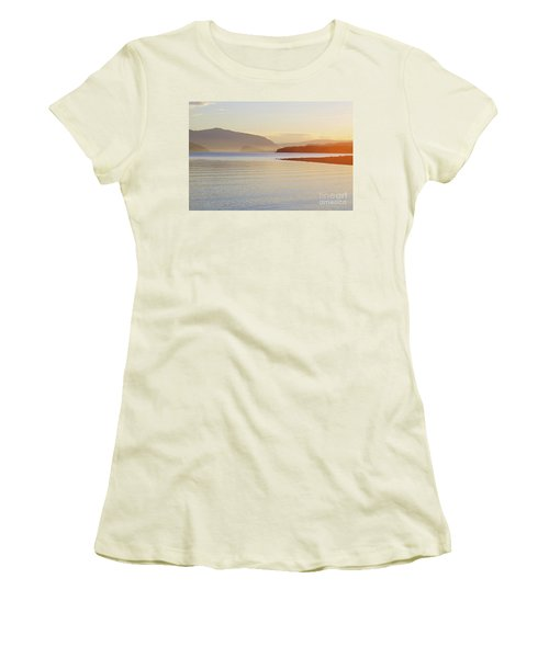 Sunset In The Mist Women's T-Shirt (Junior Cut) by Victor K