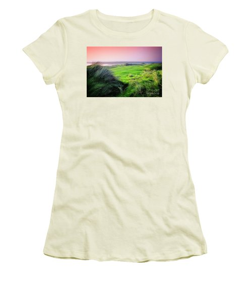 Sunset - Lahinch Women's T-Shirt (Athletic Fit)