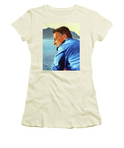 Sunset Women's T-Shirt (Junior Cut) by Tim Johnson
