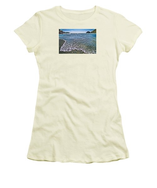 Surf #2959 Women's T-Shirt (Junior Cut) by Andrey  Godyaykin
