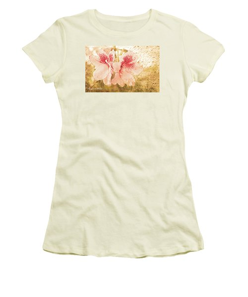 Women's T-Shirt (Junior Cut) featuring the photograph Sutle Harmony by Bonnie Willis