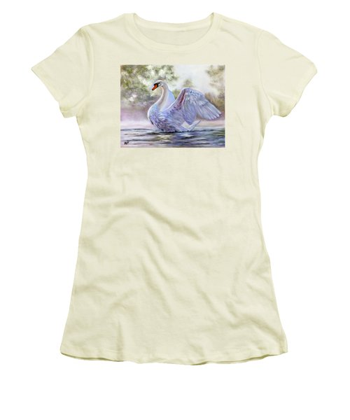 Swan Lake Women's T-Shirt (Athletic Fit)