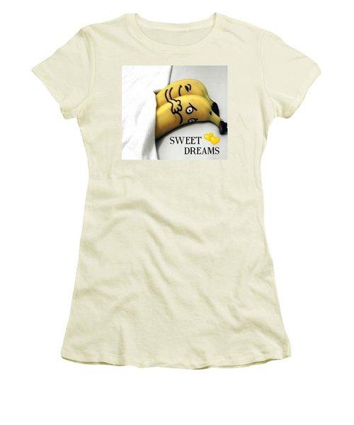 Sweet Dreams Women's T-Shirt (Junior Cut) by Sheila Mcdonald