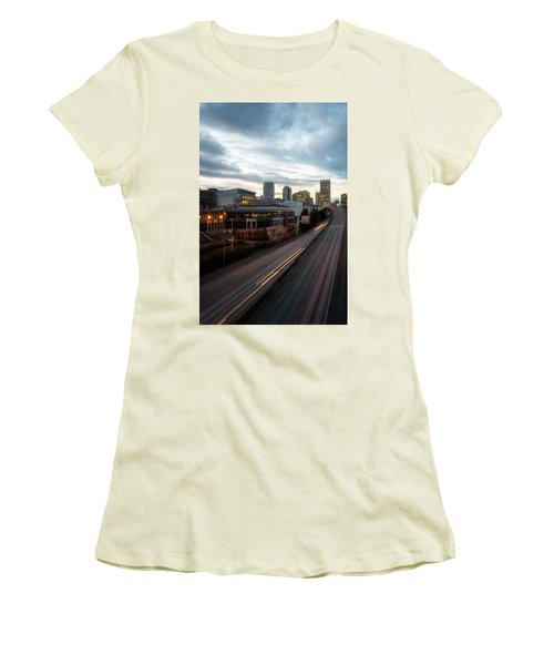 Tacoma Exit Here Women's T-Shirt (Athletic Fit)