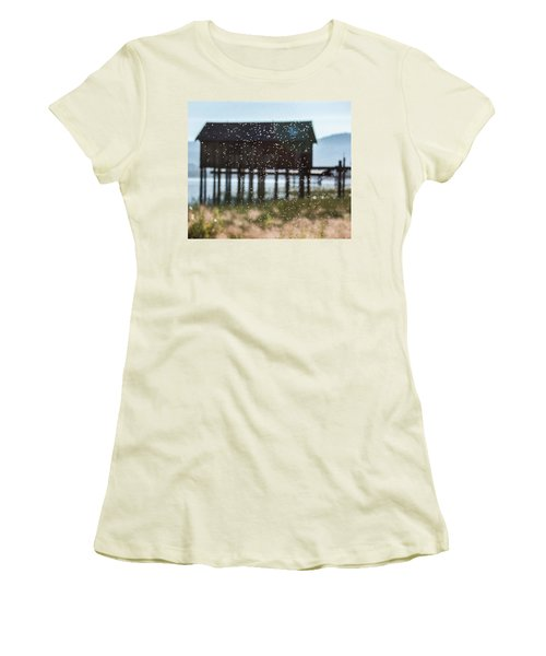 Tahoe Boat House Flies Women's T-Shirt (Athletic Fit)