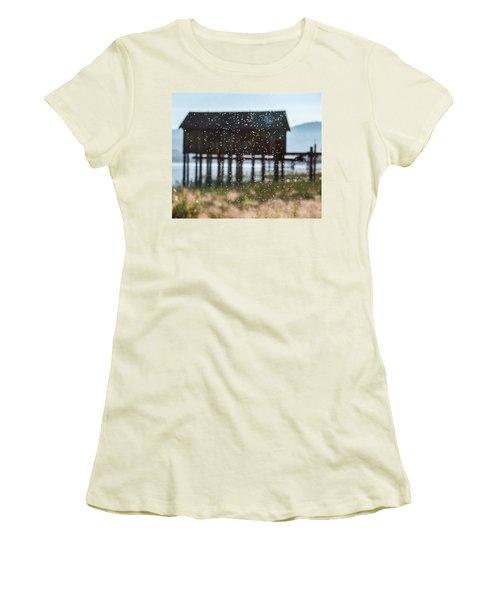 Tahoe Boat House Flies Women's T-Shirt (Athletic Fit)