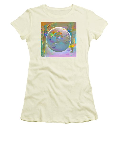 Tango With Light  Women's T-Shirt (Athletic Fit)