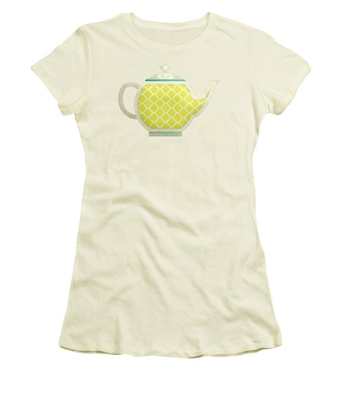 Teapot Garden Party 2 Women's T-Shirt (Junior Cut) by J Scott