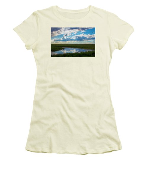 Terrace Pond Women's T-Shirt (Athletic Fit)