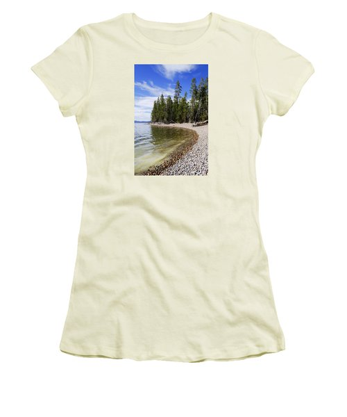 Teton Shore Women's T-Shirt (Athletic Fit)