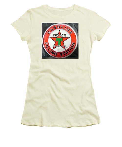 Texaco Sign Women's T-Shirt (Athletic Fit)
