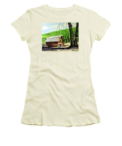 That Barn From That Movie Women's T-Shirt (Athletic Fit)