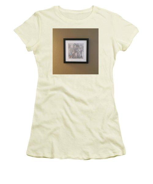 That Dark Hour Women's T-Shirt (Junior Cut) by Daniel Hebard
