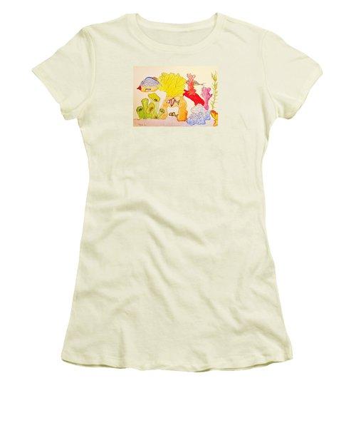 The Age Of Aquarium Women's T-Shirt (Junior Cut)