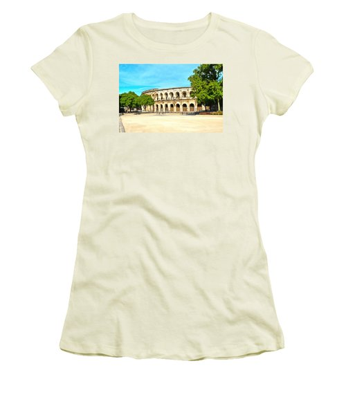 The Amphitheatre Nimes Women's T-Shirt (Athletic Fit)