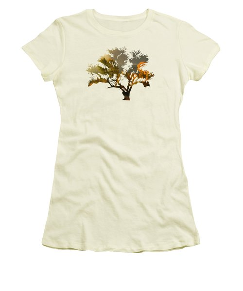 The Autumn Tree Women's T-Shirt (Athletic Fit)