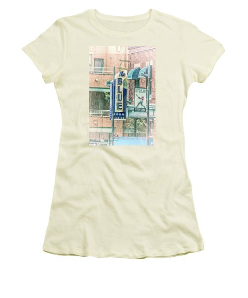 The Blue Room Women's T-Shirt (Athletic Fit)