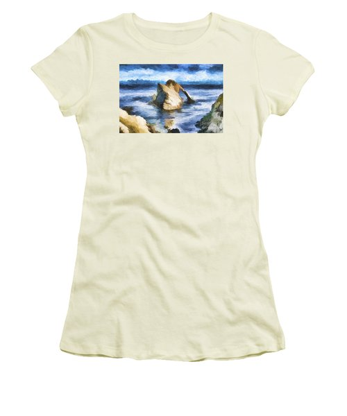 The Bow Fiddle  Women's T-Shirt (Athletic Fit)
