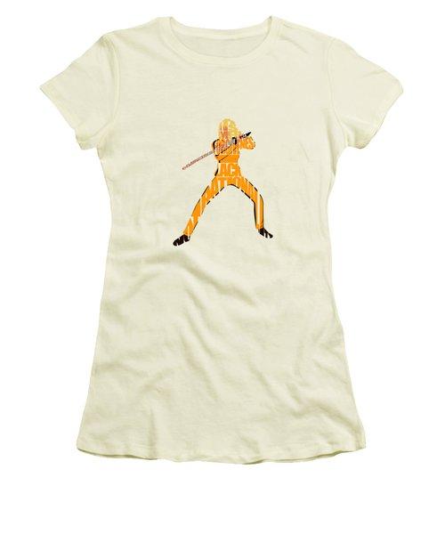 The Bride Women's T-Shirt (Junior Cut) by Ayse Deniz