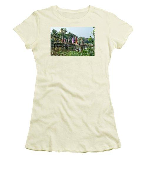 The Bridge Women's T-Shirt (Junior Cut) by Marion Galt