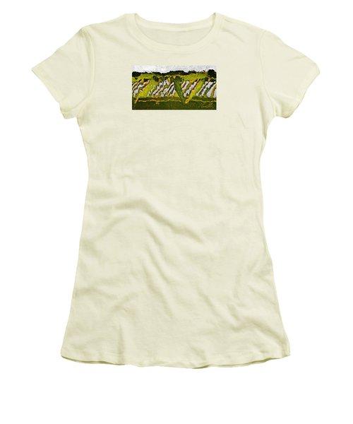 The Bridge - Me To You Women's T-Shirt (Junior Cut) by Tom Cameron