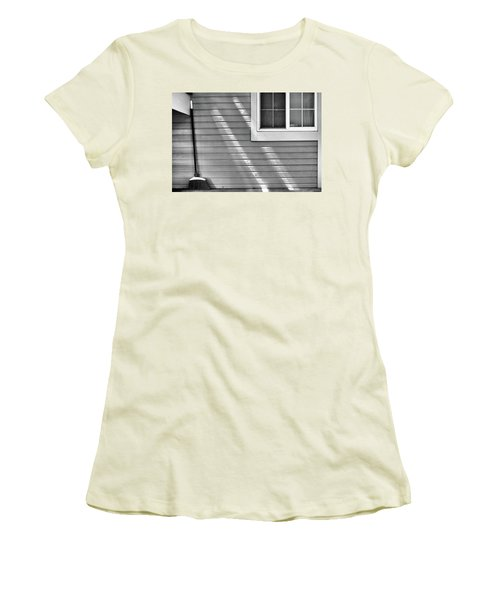 The Broom And Sunbeams Women's T-Shirt (Junior Cut) by Monte Stevens