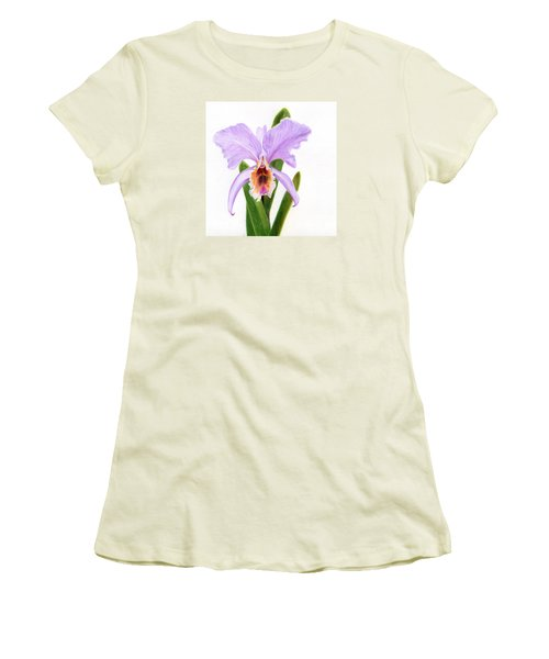 The Christmas Orchid Women's T-Shirt (Athletic Fit)