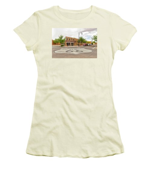 The Corner In Winslow Women's T-Shirt (Athletic Fit)