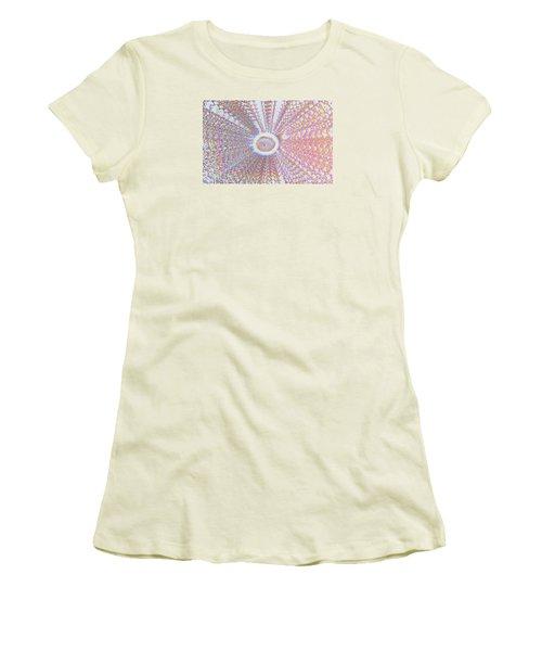 The Divine Light   Women's T-Shirt (Junior Cut) by Manjot Singh Sachdeva
