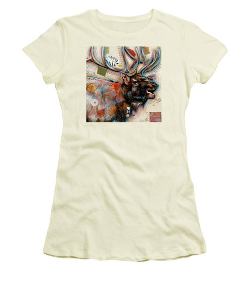 The Elk Women's T-Shirt (Athletic Fit)