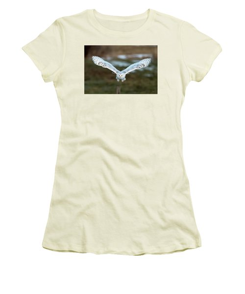 Women's T-Shirt (Junior Cut) featuring the photograph The Eyes Of Intent by Everet Regal
