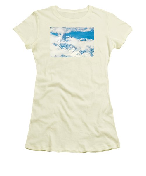 The Fitz Roy Women's T-Shirt (Junior Cut) by Andrew Matwijec