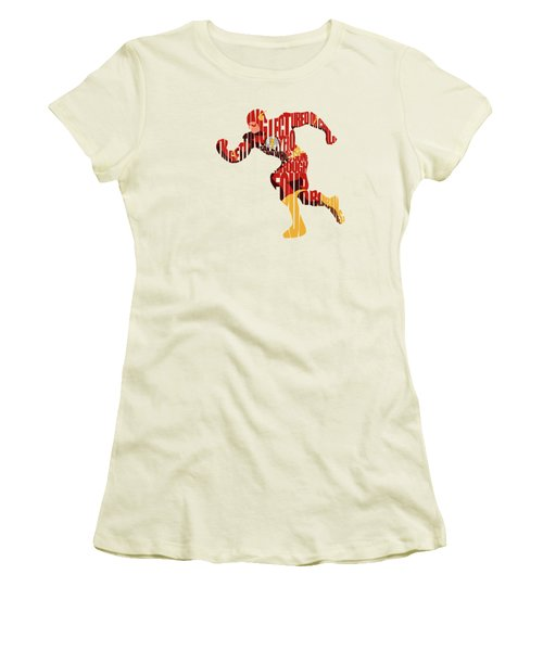 The Flash Women's T-Shirt (Athletic Fit)
