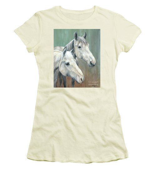 The Grays - Horses Women's T-Shirt (Athletic Fit)