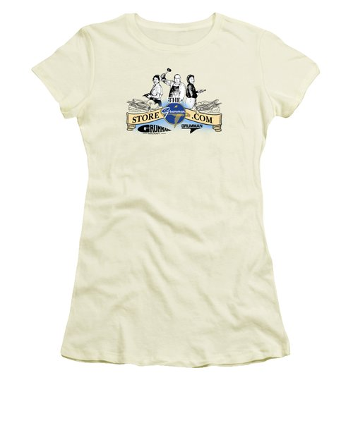 The Grumman Store Women's T-Shirt (Athletic Fit)