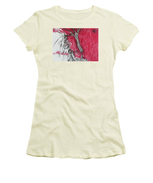 The Horror Tree Women's T-Shirt (Athletic Fit)